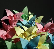 Origami Flowers #1-1 by jimmyzoo