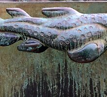 Very Fishy Sculpture by Carl Milles by HELUA