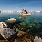 East Shore Lake Tahoe I by Richard Thelen