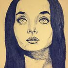 Morticia by delvisjr