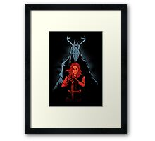 The LARP Queen Framed Print