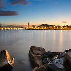 Barcelona Sunset by Michael Abid