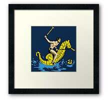 Real Water Polo Framed Print