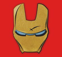 Iron Man Face Plate by Deividas