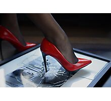 Red Shoe Diary - 1 Photographic Print