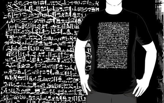 Ancient Egyptian Hieroglyphics by cadellin