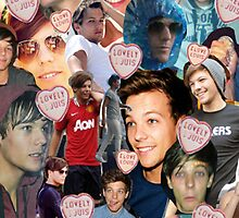 Louis Tomlinson Collage by Hannah Julius