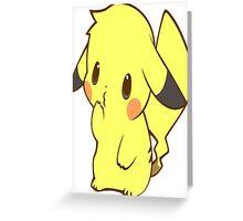 Chibichu Greeting Card