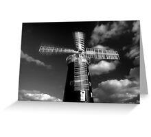 Pakenham Windmill,Suffolk,England Greeting Card