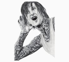 Mitch Lucker Drawing Tee by zoeandsons