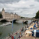 Life's a beach - Paris by Denzil