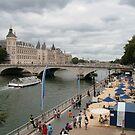 Life's a beach - Paris by Denzil