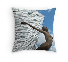 The Titanic Museum, Belfast Throw Pillow