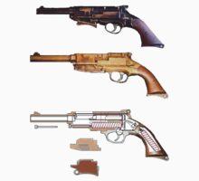Mals gun Serenity n Firefly  by Radwulf