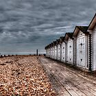 EASTBOURNE HUTS by RED-RABBIT