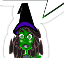Elphaba is a diva... Sticker