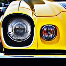 Yellow Camaro front light by htrdesigns