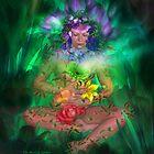 Healing Garden by Carol  Cavalaris