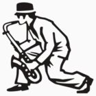 Ska Saxophonist by bkxxl