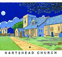 Hartshead Church, West Yorkshire by bruce baillie