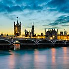 London Sunset by Michael Abid