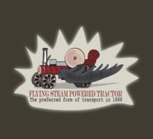 SteamPunk Tractor tee by Diana-Lee Saville