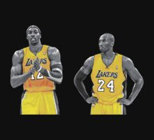 Kobe & Dwight by Tizza