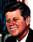 All The President's Heads #2 - JFK by Benedikt Amrhein