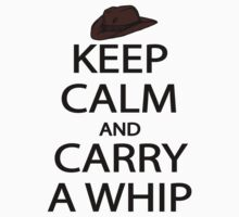 keep calm and carry a whip. Kids Clothes