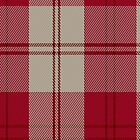 00708 Ailsa Red Fashion Tartan Fabric Print Iphone Case by Detnecs2013