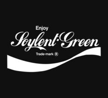 Enjoy Soylent Green (black) - geek t-shirt by geekuniverse