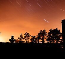 Clonmacnoise Startrail by Mark Lyons