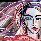 Opal Woman - Celebrating International Women's Day on 8 March 2013 by Anthea  Slade