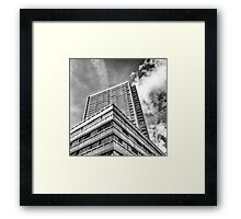 High on the Top Framed Print