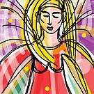 Angel of Light  - Celebrating International Women's Day 8 March 2013 by Anthea  Slade