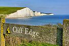 Clff Edge - Seven Sisters - HDR by Colin J Williams Photography
