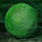 Green Ball by michaelasamples