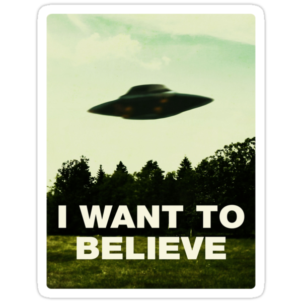 I Want to Believe by Irgum