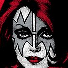 Ace Frehley - Kiss - The Space Ace iPad Case by Design-Magnetic