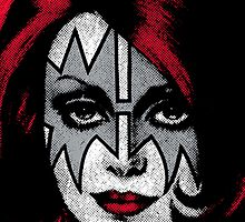 Ace Frehley - Kiss - The Space Ace  by Design-Magnetic