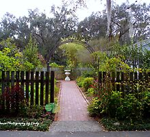 Garden Entry by Lindy Long