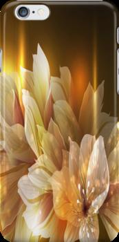 Golden Flowers  by AdrianeJ