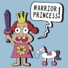 Warrior Princess by jarhumor