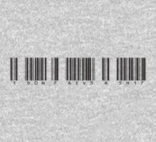 Barcode I don't give a shit by Vana Shipton