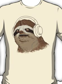 What is a sloths favourite music? T-Shirt