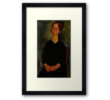 Little Servant Girl, c.1916 Framed Print