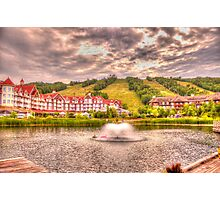 Blue Mountain - HDR - 2 Photographic Print
