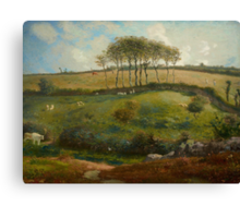 Pasture near Cherbourg (Normandy), 1871-2 Canvas Print