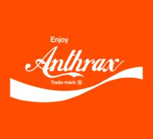 Enjoy Anthrax (orange) - geek t-shirt by geekuniverse