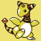Ampharos Retro by DragonBoyAC